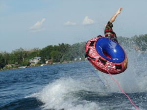Pasco County, New Port Richey, Dade City, Trinity, Lutz Boating Accident - Falling Out Of Tube